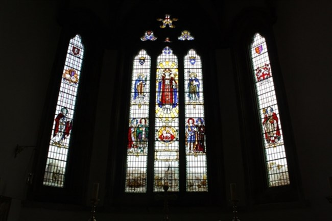 The East Window at St Mary's Church